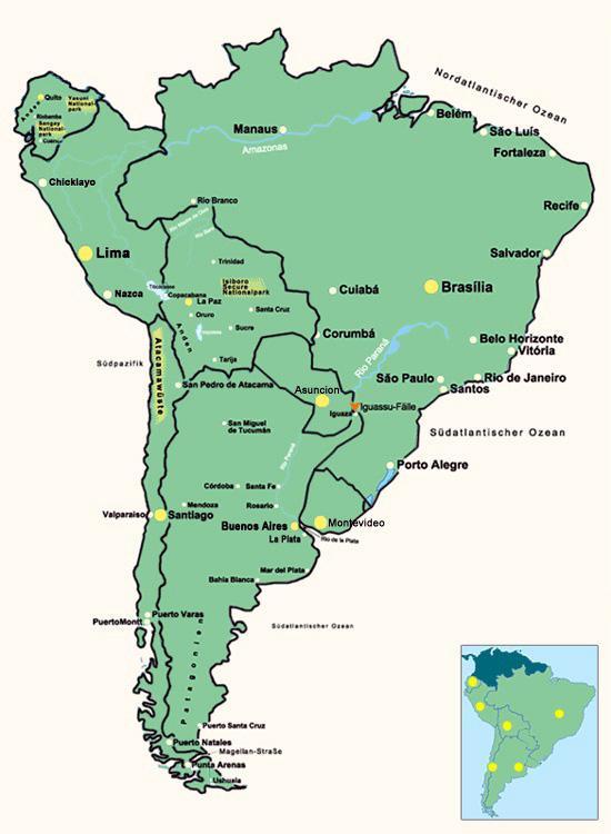 12 Tage Sudamerika Rundreise Uruguay Argentinien Brasilien Mit